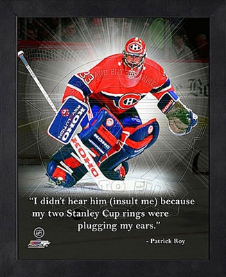 Patrick Roy Montreal Canadiens 12x15 Framed ProQuote