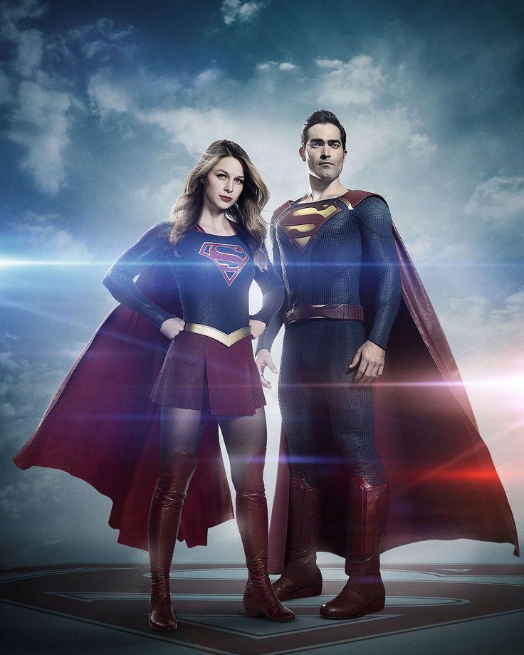 Supergirl:+primera+imagen+de+Superman+en+la+serie