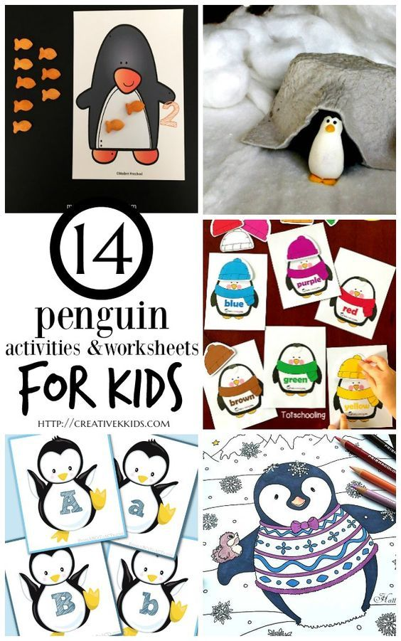 14 Penguin Activities Worksheets And Free Printable Coloring Sheets For Kids Plus 18