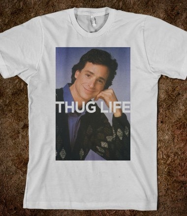 Thug Life Funny Shirt Hipster Shirts by HipsterTee on Etsy, $18.00