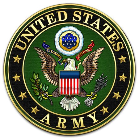 Military Insignia 3D : United States Army: Logo and Symbol
