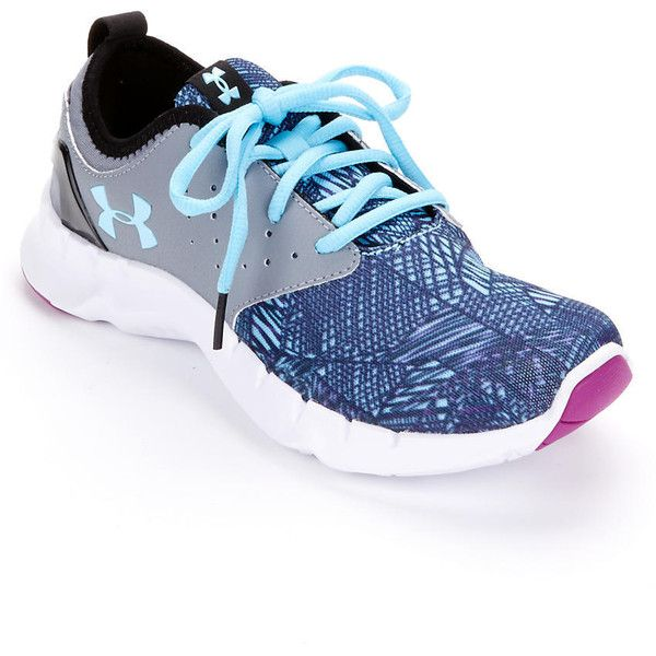 Under Armour Women's UA Flow Criss Cross Running Shoes ($80) ❤ liked on Polyvore featuring shoes, athletic shoes, women, athletic running shoes, under armour, under armour footwear, criss cross shoes and flexible shoes