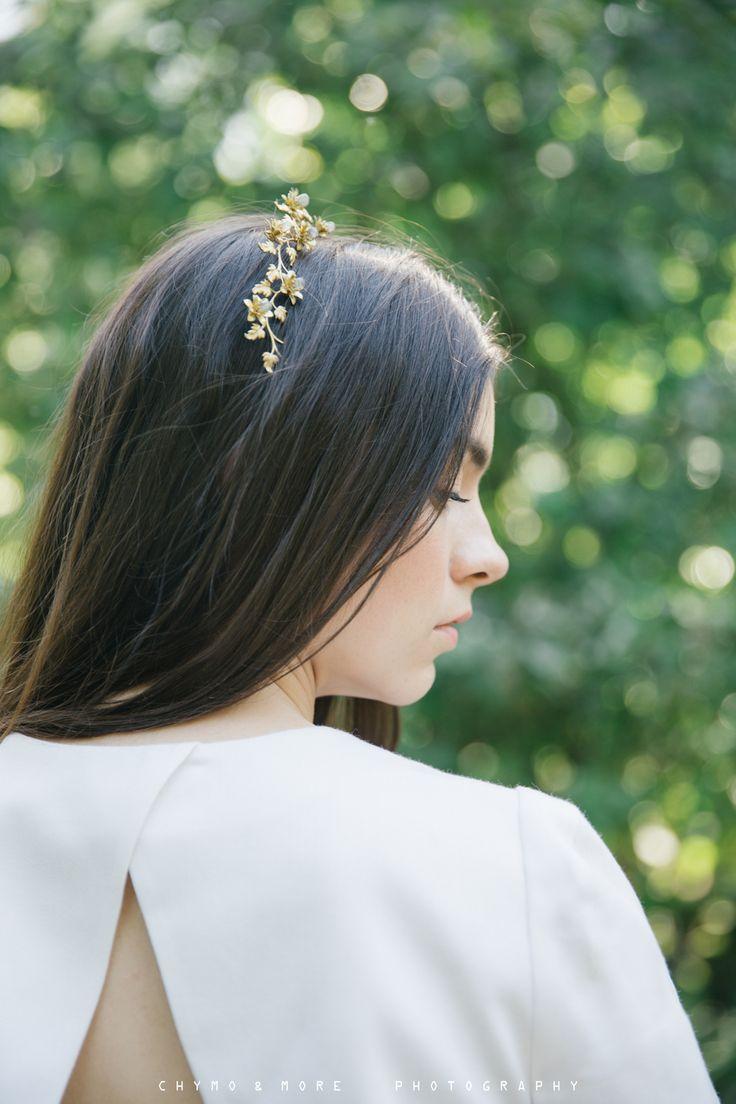 Elizabeth Stuart Moonflower Gown featured in Naturae Design Summer 2015 Lookbook. Image by Chymo More #elizabethstuart