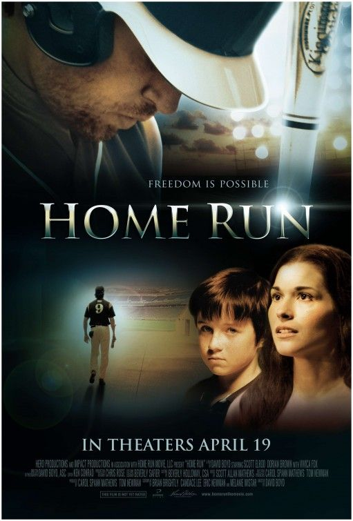 """""""Home Run"""" in theaters this Friday April 19th! For more info check out http://www.christianfilmdatabase.com/review/home-run/"""