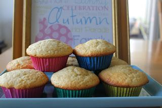 Easter Surprise Muffins - Want to know what to do with all those leftover mini chocolate eggs?  Try these!