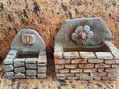 Tuto : comment faire une fontaine rectangulaire (accessoire de crèche)