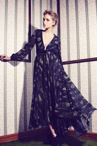 luciana dress, alexia ulibarri
