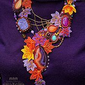 Магазин мастера Наталия Угрин: колье, бусы, комплекты украшений, диадемы, обручи, женские сумки, пояса, ремни