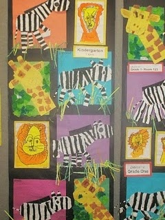 Zoo Art Projects (no directions just pictures)