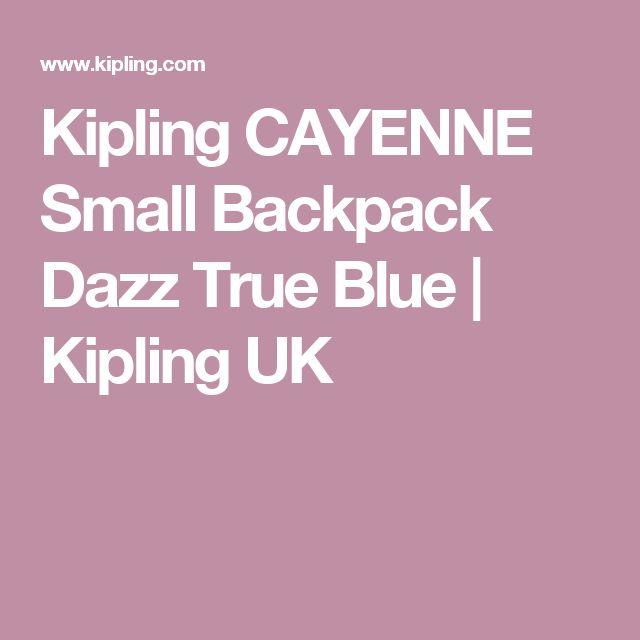 Kipling CAYENNE Small Backpack Dazz True Blue | Kipling UK