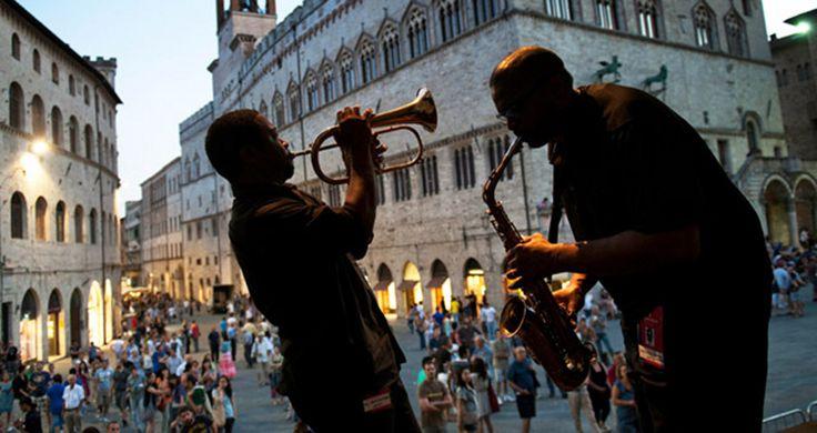 Umbria Jazz, Piazza IV Novembre – #Perugia #mccurry #sensationalumbria