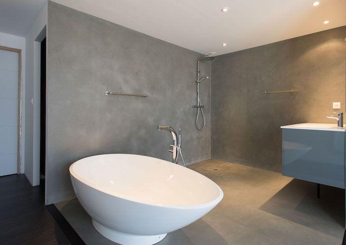 29+ Enduits muraux salle de bain trends