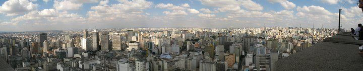 Brazil 2008 Trip > Sao Paolo > Panoramic,  photo credit: Patty Psarrou