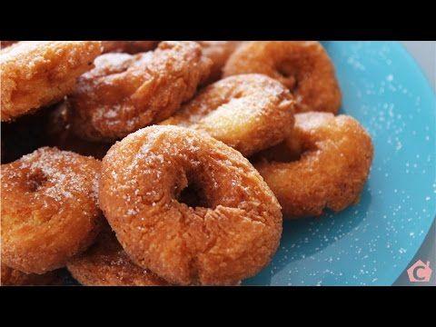 Recetas de cocina fácil - Rosquetes canarios - YouTube
