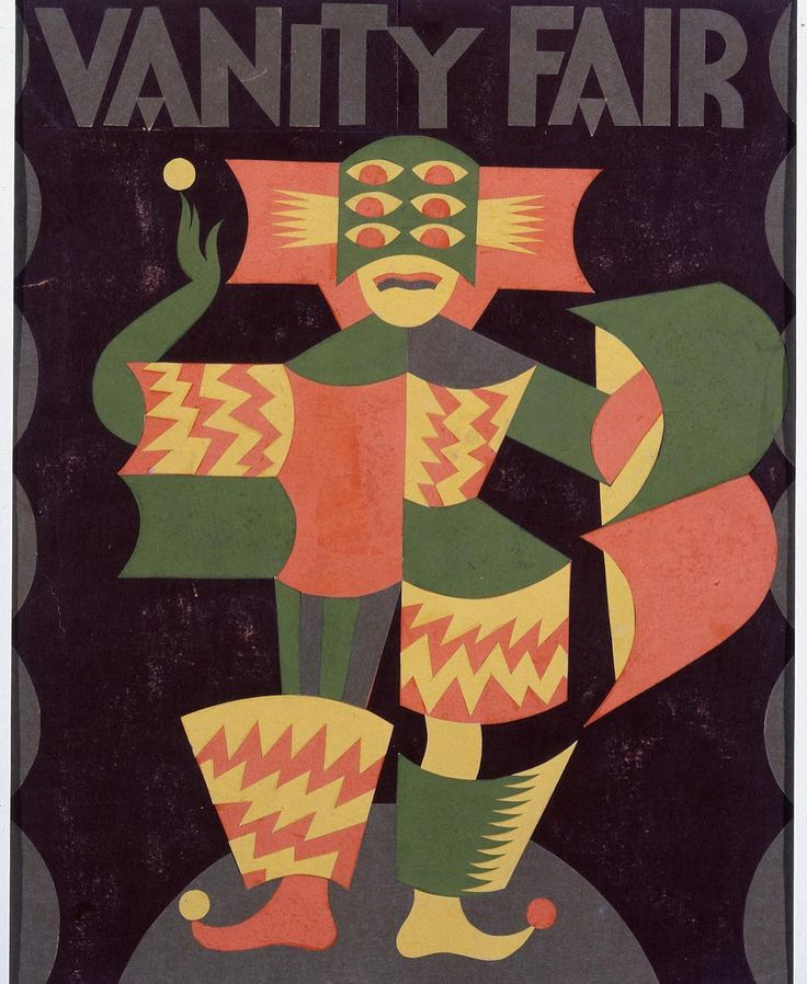 """Question: """"Do you consider yourself an artist or an illustrator?"""" Answer: """"Fortunato Depero cover of Vanity Fair 1930"""" by olimpiazagnoli"""