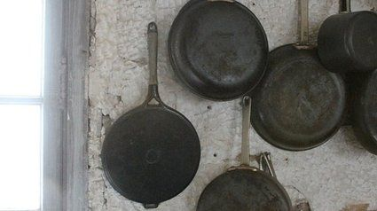 Les 25 meilleures id es concernant casserole en fonte sur pinterest casseroles en fonte - Nettoyer rouille sur fonte ...