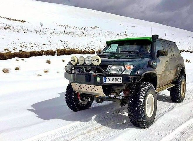 Nissan Patrol Gr Y61 snow Spain