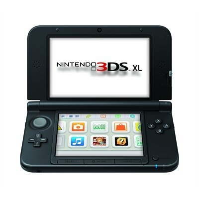 Nintendo 3DS XL Red Black .. love to play Mario on the go! #indigo #magicalholiday