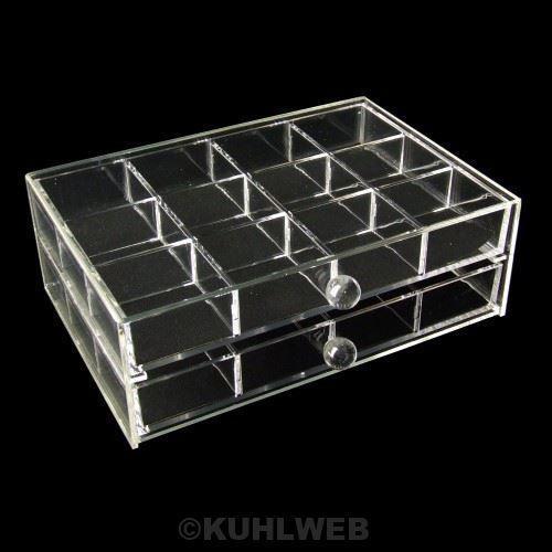 Organizer Aufbewahrungsbox Schmuckkasten mit 2 Schubladen