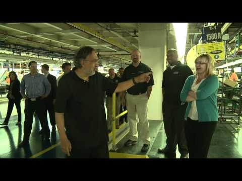 Sergio Marchionne - Belvidere Assembly Plant Tour Highlights