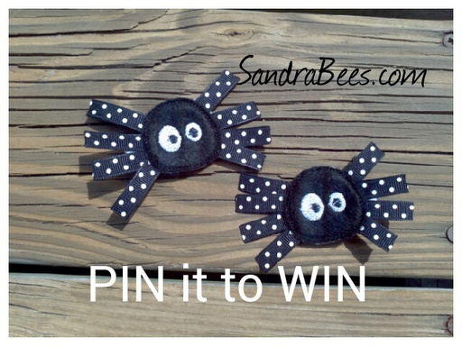 Pin it to win it! More entries thru Facebook too!
