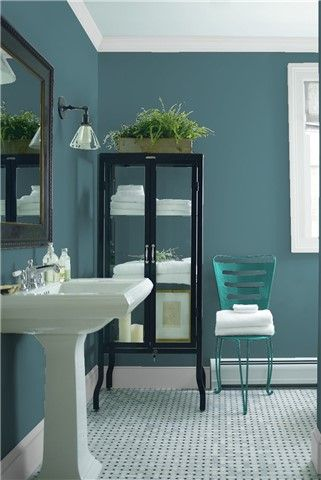 Look At The Paint Color Combination I Created With Benjamin Moore Via Wall Bella Blue 720 Trim Marilyn S Dress 2125 60