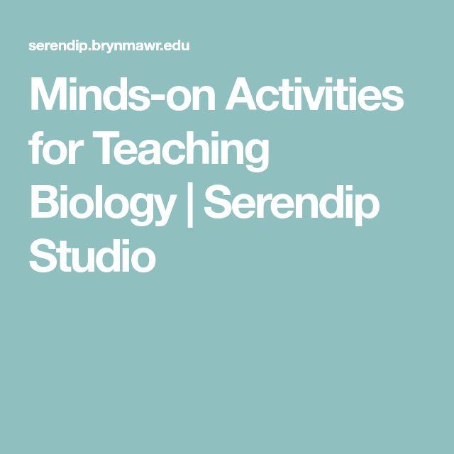 Minds-on Activities for Teaching Biology | Serendip Studio