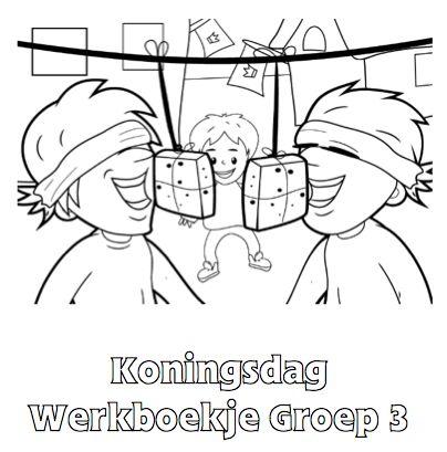 Koningsdag Werkboekje Groep 3