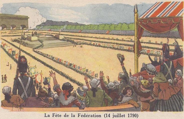 La Fête de la Fédération (14 juillet 1790)