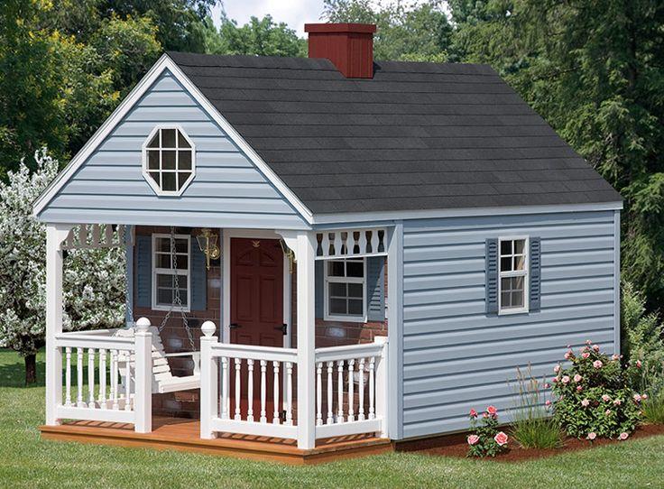Playhouses :: Backyard Cabin :: Backyard Cabinbr(10x10 to