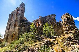 Panorama du château de covasina - Ventiseri — Wikipédia