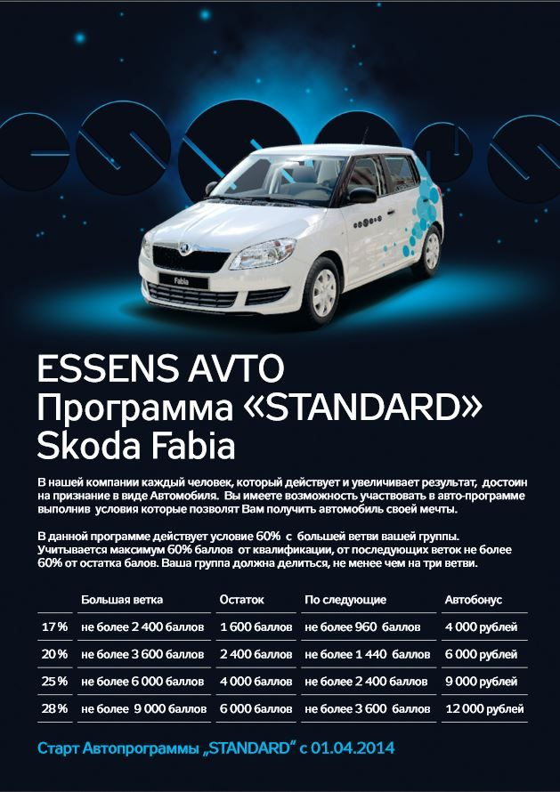 Essens-avto - Essens Russia - www.essensworld.ru - Essens ID: 10001234