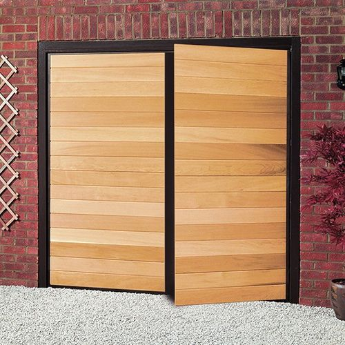 Best 25 side hinged garage doors ideas on pinterest for Garage side door and frame