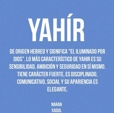 Significado de los nombres - Naran Xadul