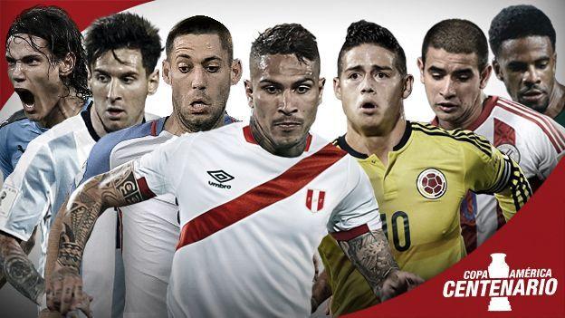 Copa América Centenario 2016: Fixture y calendario del torneo.