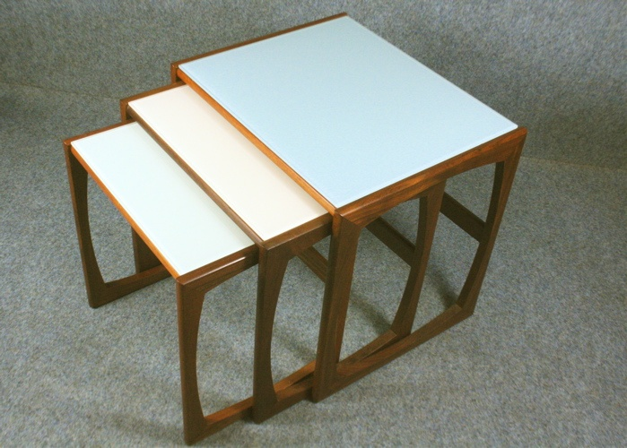 Up-cycled 1950's GPlan nest of tables