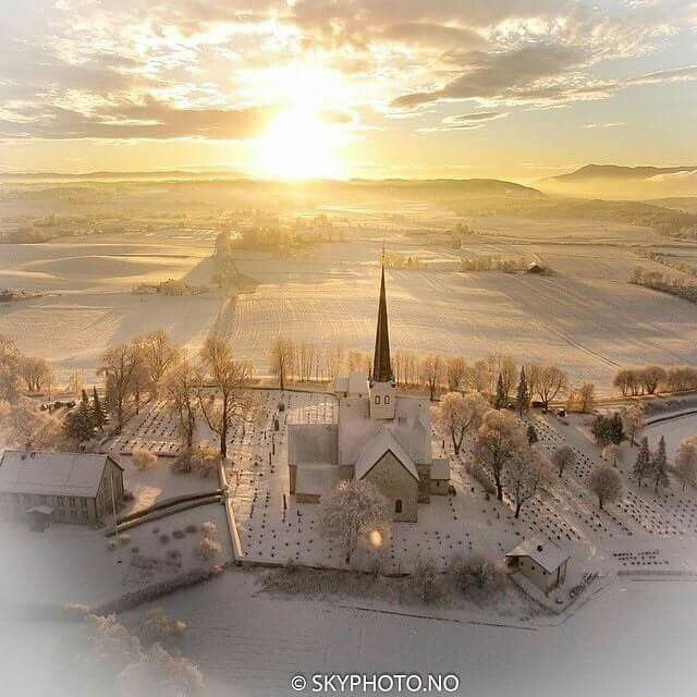 Stange Kirke, Norway ….Stay cheap and comfortable on your stopover in Oslo: www.airbnb.com/rooms/1036219?guests=2&s=ja99 and https://www.airbnb.com/rooms/6808361