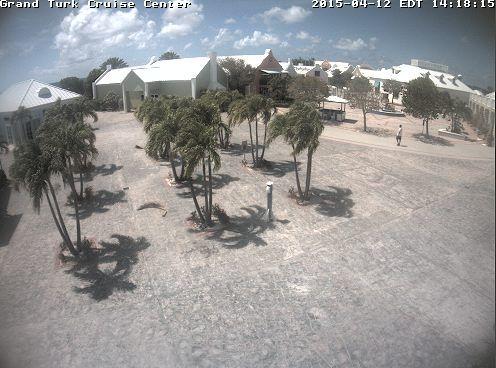Port Webcam Grand Turk Nassau Amp Half Moon Cay Bahamas