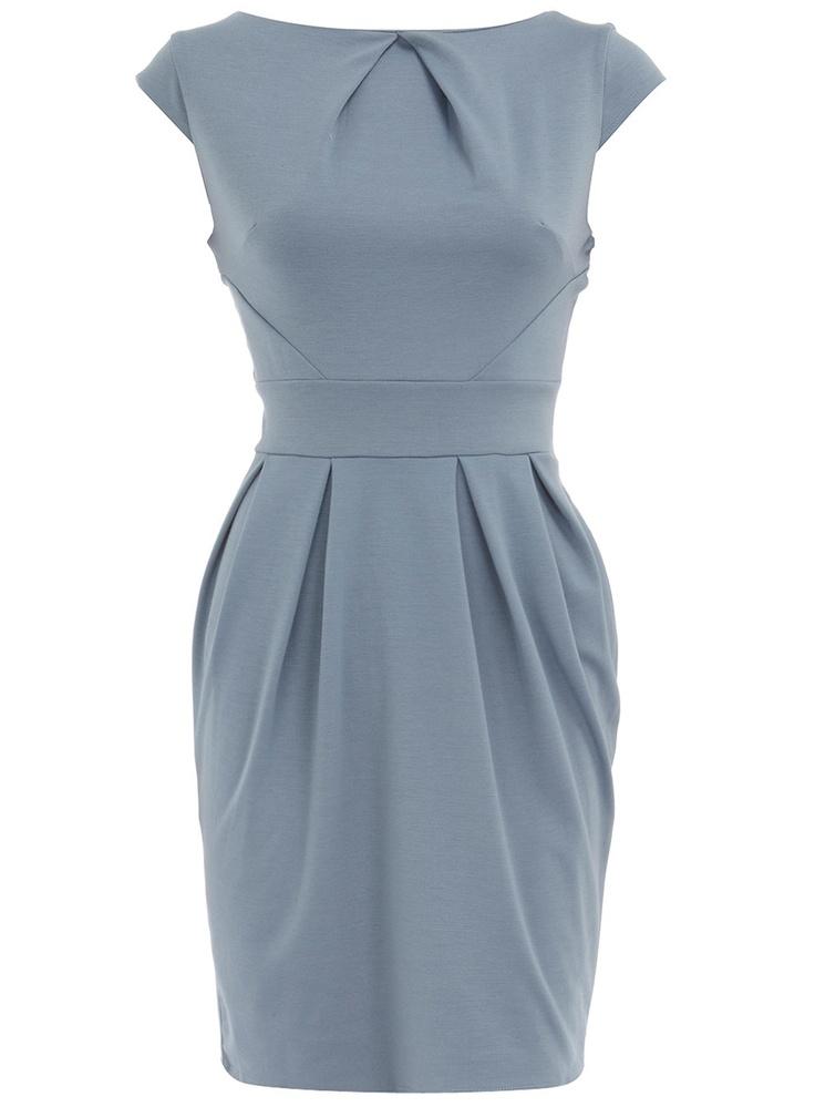 Blue lampshade dress at Dorothy Perkins