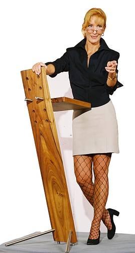 Ein Steh- und Rednerpult aus Franken
