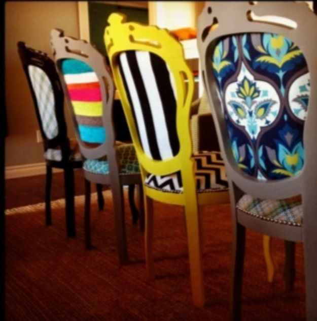 Add backing to dining room chairs? @Sydney Martin Martin Martin Shrader