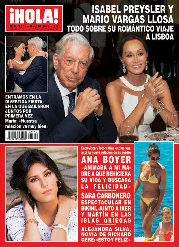 En ¡HOLA! España: Entramos en la divertida fiesta en la que Isabel Preysler y Mario Vargas Llosa bailaron juntos por primera vez