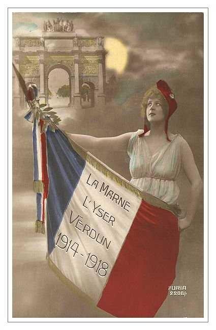 wahnwitzig:  French, WWI