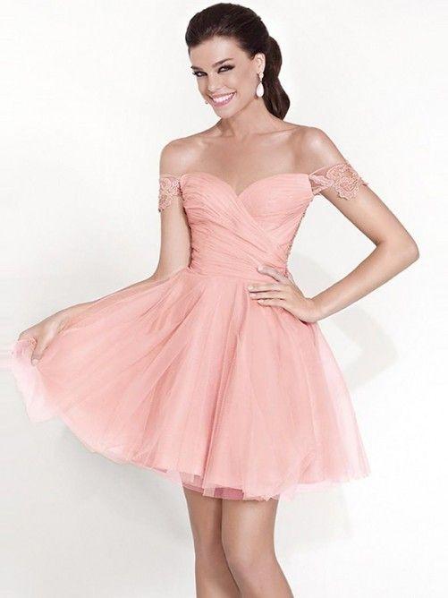 77 best Vestidos de fiesta cortos images on Pinterest | Short prom ...