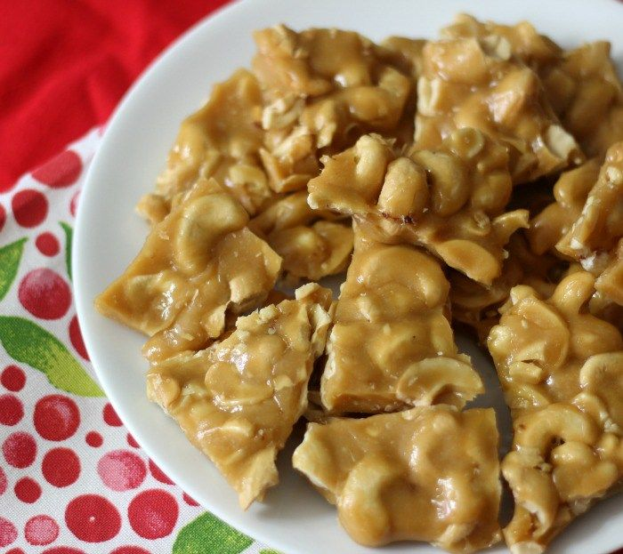 Cashew Brittle | Recipe | Cashew brittle