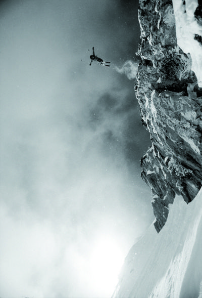 Jesse Hall freeride ski - white powder snow in Alta, Utah | winter . Winter . hiver | photo: Steve Lloyd |