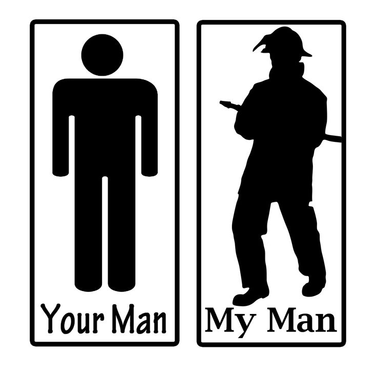 $5.00 Is your man a fireman? SHow him how awesome he is compared to the common man here: https://www.etsy.com/listing/120904730/my-man-vs-your-man-army-military-police