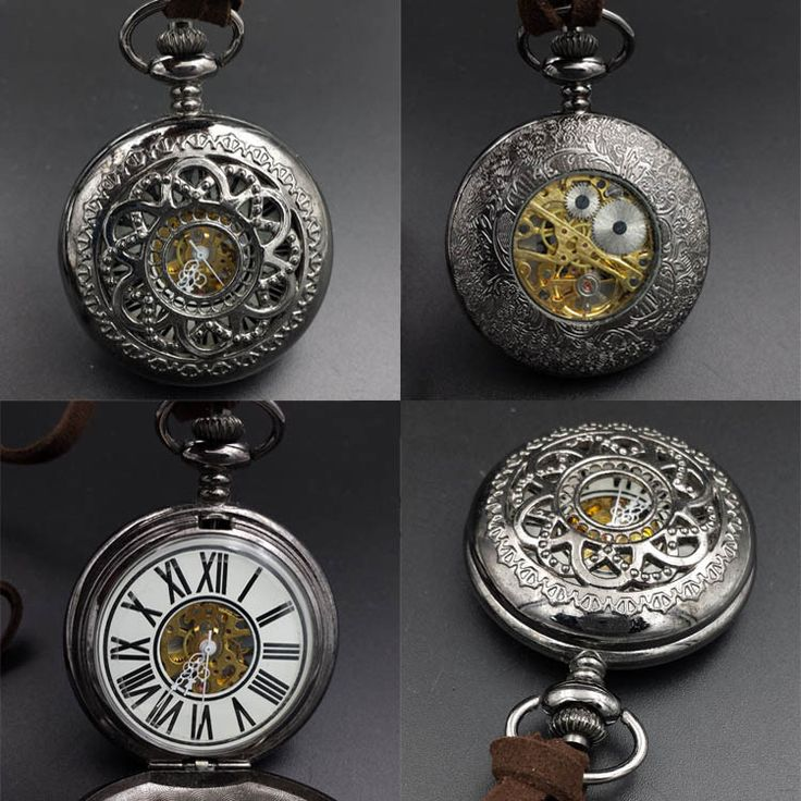 Luxury Skeleton Pocket Watch