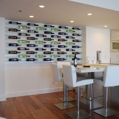 Wine displays by aluminum home solutions | Style Tipsy
