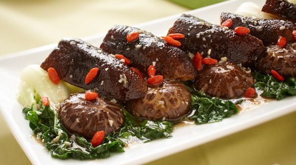 Braised Mushroom with Sea Cucumber #recipe for Chinese New Year #CNY